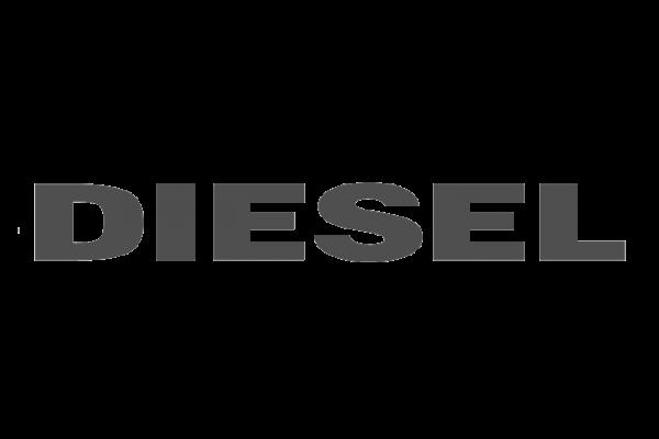 Il logo dell'azienda Diesel.