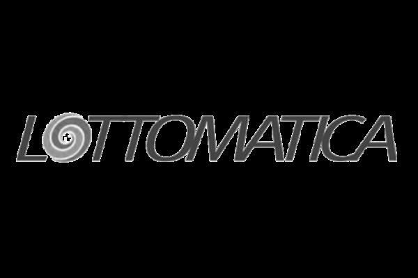 Il logo dell'azienda Lottomatica.
